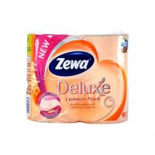 Hartie Igienica 3 straturi Zewa Cashmere Peach, 4 role