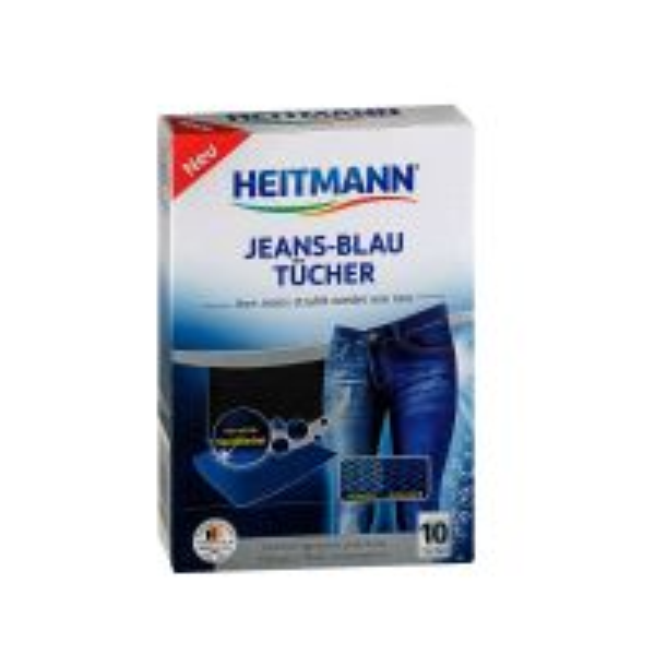 Heitmann Servetele pentru revigorarea culorii blugi albastri