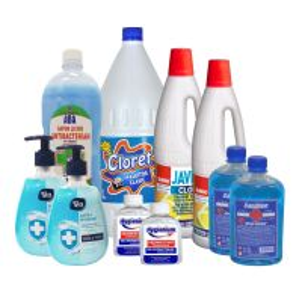 Pachet intretinere si dezinfectare zilnica pentru suprafete si corp