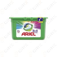Ariel 3 in 1 Pods color Detergent rufe colorate automat 12 buc