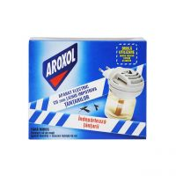 Aparat tantari electric Aroxol cu rezerva lichida, 45 ml