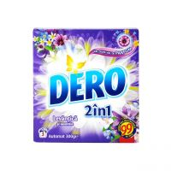 Dero 2 in 1 Levantica si Iasomie, Detergent automat 300 g